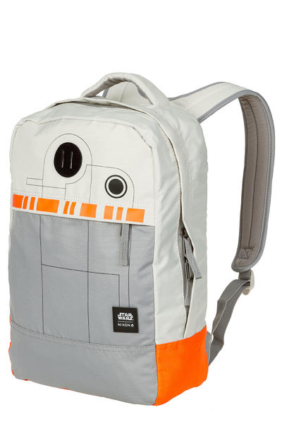 Nixon x Star Wars BB-8 Beacon Rucksack 18L (silver orange)