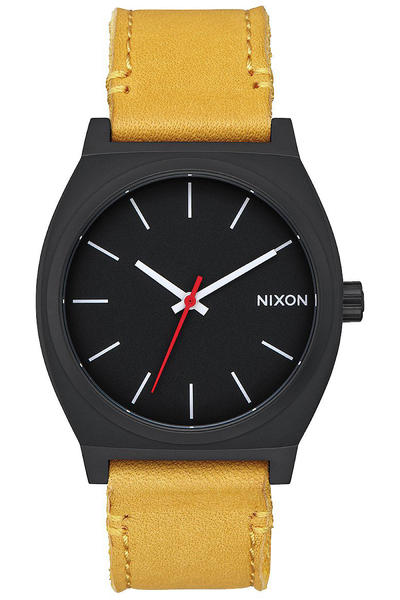 Nixon The Time Teller Mountain Dweller Uhr (all black goldenrod)