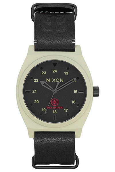 Nixon The Time Teller Taka Hayashi Watch (bone black)