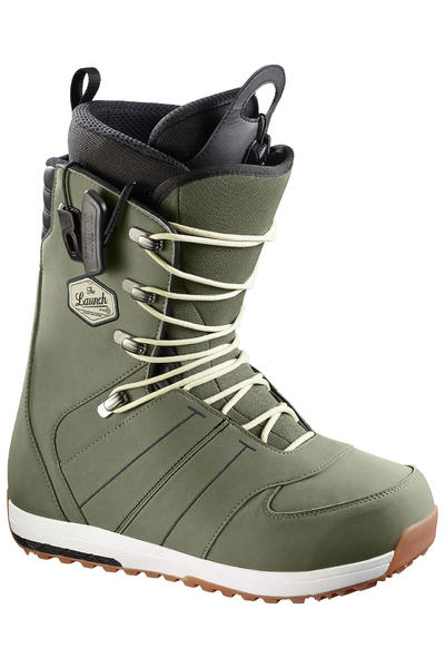 Salomon Launch Lace Boot 2016/17 (turf green black)