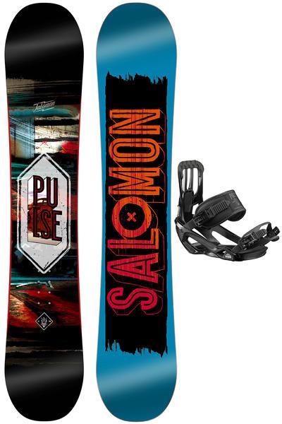 Salomon Pulse 160cm / Pact L Snowboardset 2016/17