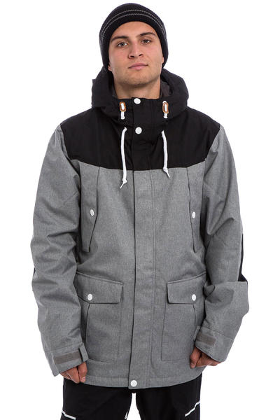 Colour Wear Charge Snowboard Jacke (grey melange)