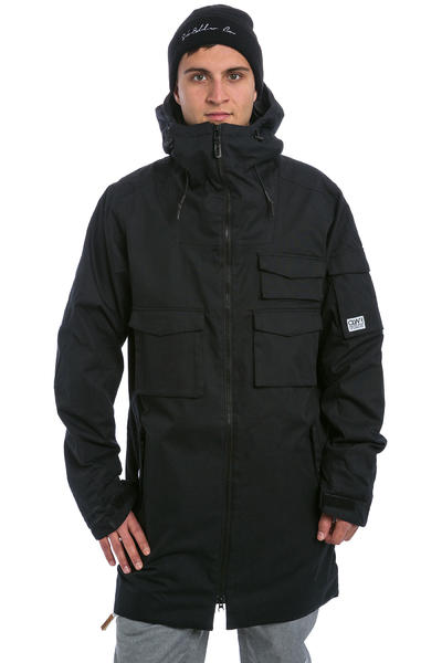 Colour Wear Cargo Parka Snowboard Jacke (black)