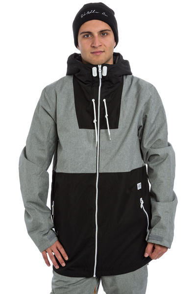 Colour Wear Block Snowboard Jacke (grey melange)