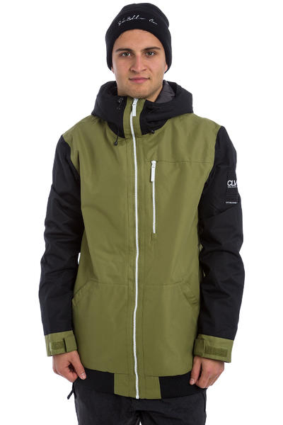Colour Wear Base Snowboard Jacke (loden)
