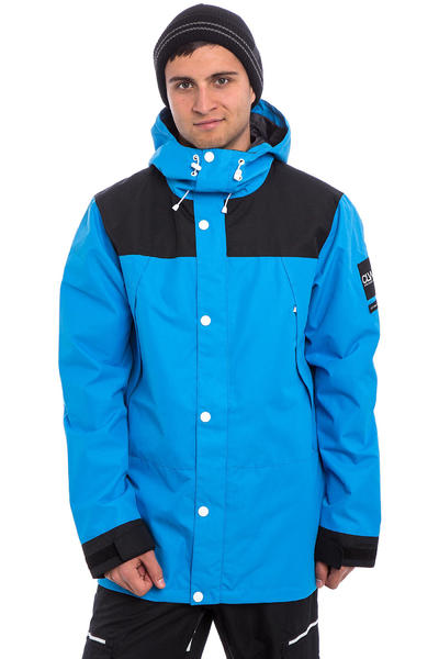 Colour Wear Rock Snowboard Jacket (acid blue)