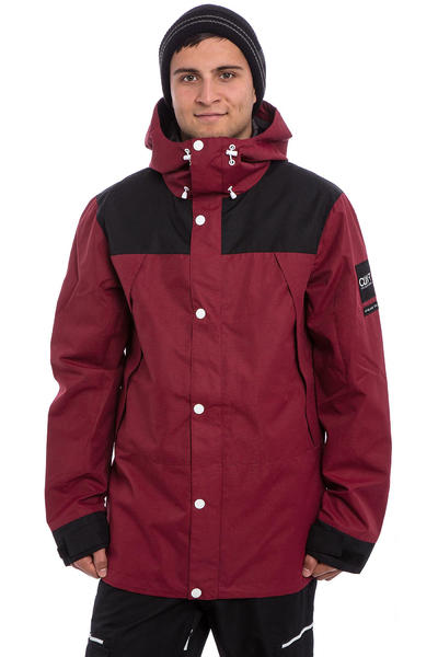 Colour Wear Rock Snowboard Jacke (burgundy)