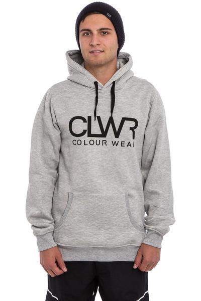 Colour Wear CLWR Snow Hoodie (grey melange)
