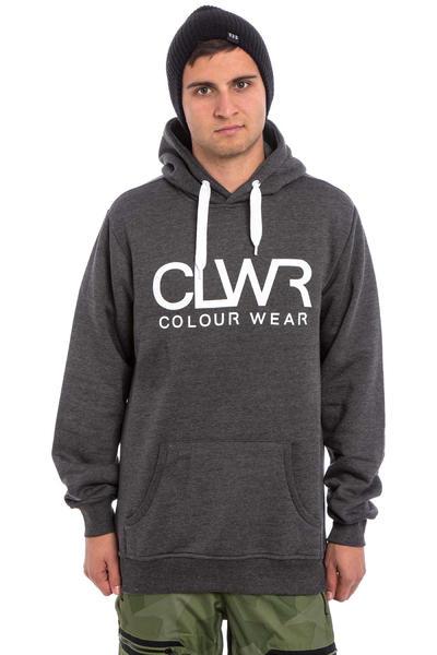 Colour Wear CLWR Snow Hoodie (black)