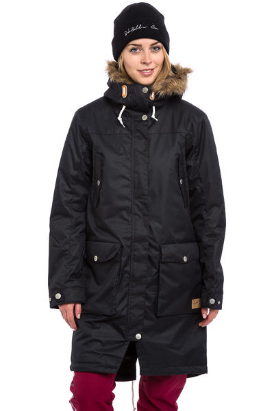 Colour Wear Halo Parka Jacket women (black)