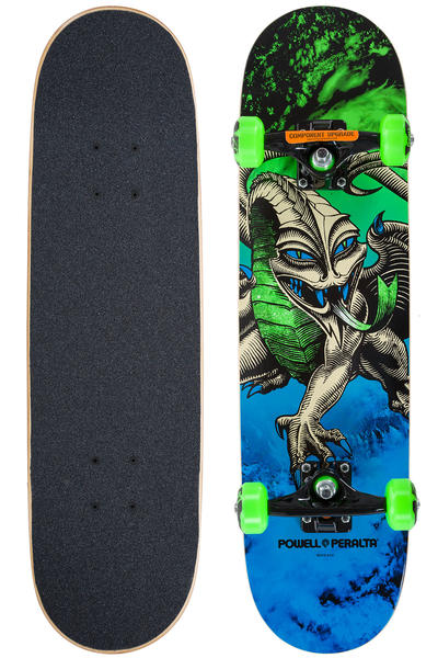 "Powell-Peralta Cab Dragon Storm 7.5"" Komplettboard (green blue)"