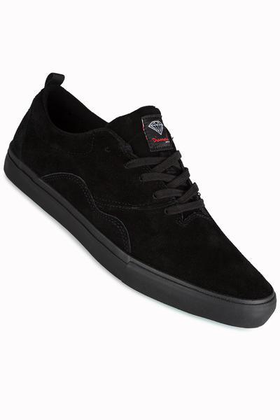 Diamond Lafayette Suede Shoe (black)