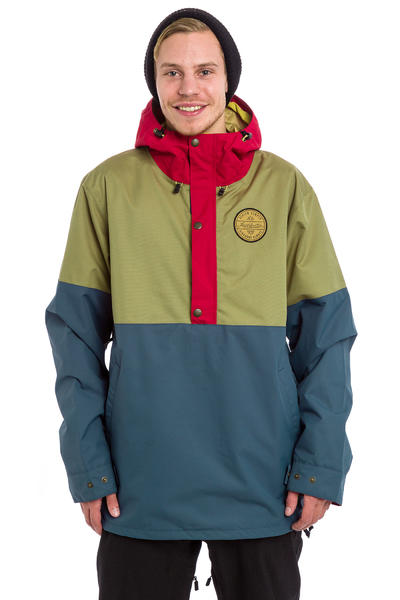 Airblaster Trenchover Snowboard Jacke (khaki blue)