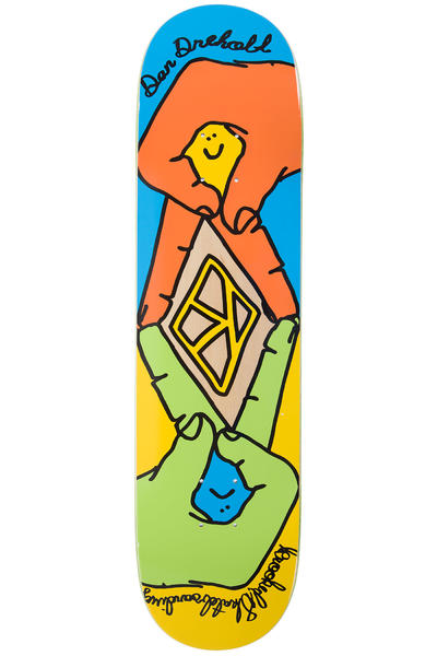 "Krooked Drehobl Secret Shake 8.06"" Deck (multi)"
