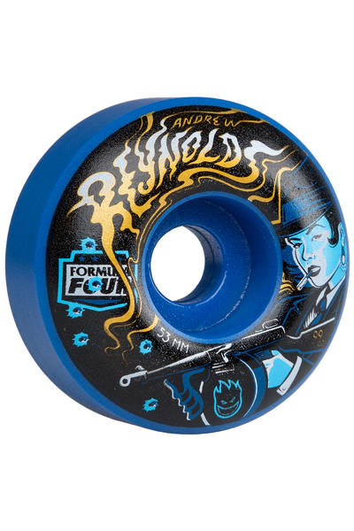 Spitfire Reynolds Sweeper Formula Four 53mm Wheel (blue) 4 Pack