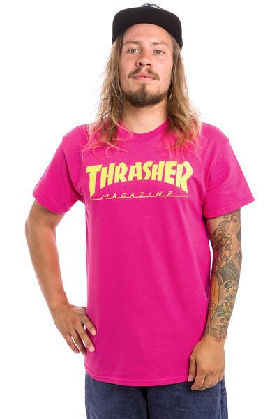Thrasher Magazine Logo Camiseta (pink)