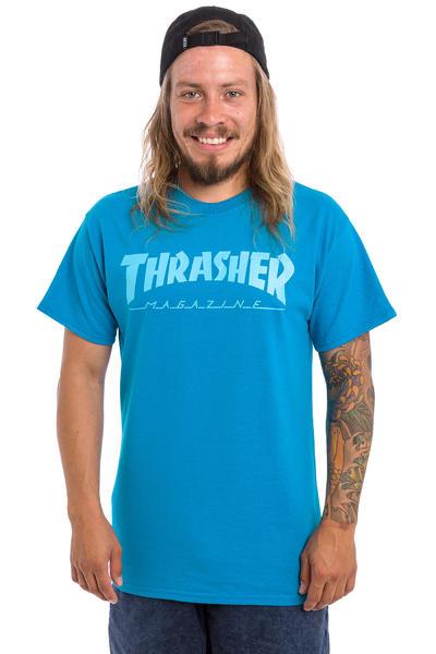 Thrasher Magazine Logo Camiseta (sapphire blue)