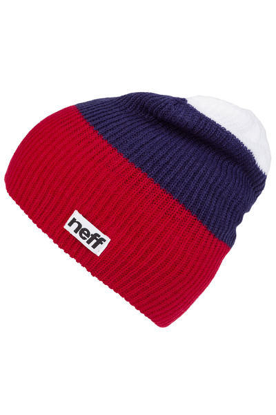 Neff Trio Mütze (red navy white)