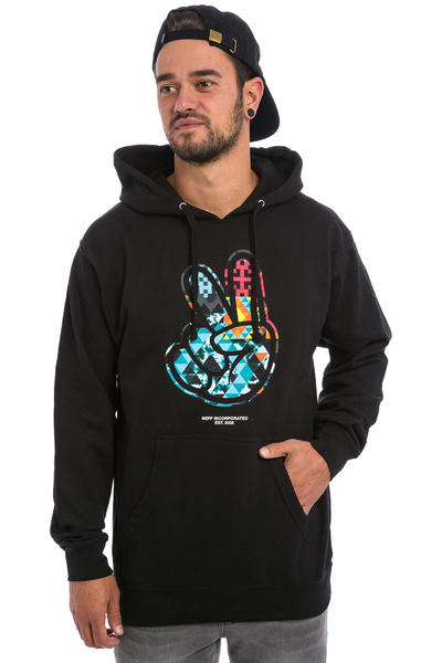Neff Paz Digi Tribe Hoodie (black)