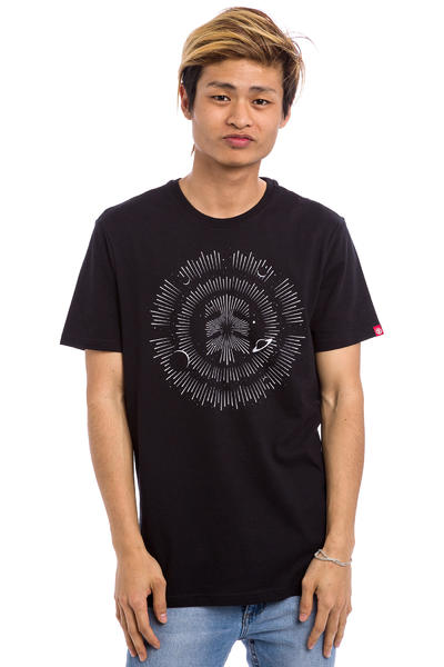 Element Galaxy T-Shirt (flint black)