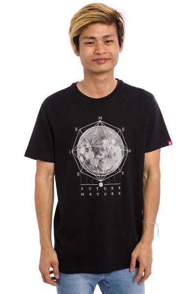 Element Moon T-Shirt (flint black)