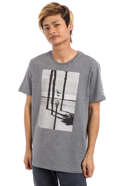 Element Perspective French Fred T-Shirt (grey heather)