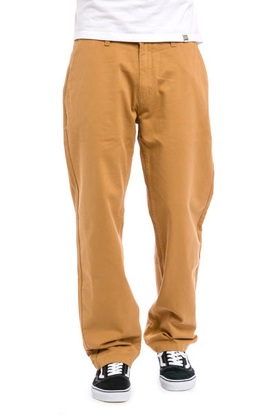 Polar Skateboards 90's Chino Hose (golden brown)