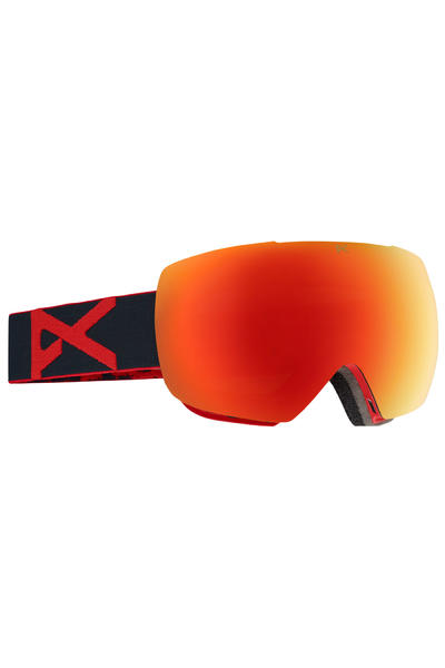 Anon Mig Goggles (red eye red solex)