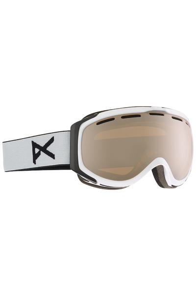 Anon Hawkeye Goggles (white silver amber)