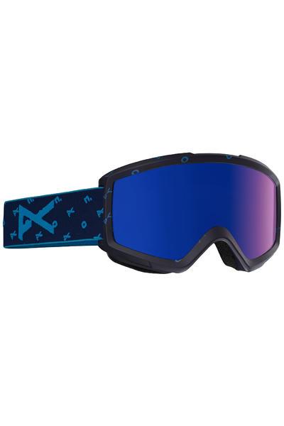 Anon Helix 2.0 Goggles (logonet blue cobalt) incl. Bonus glass
