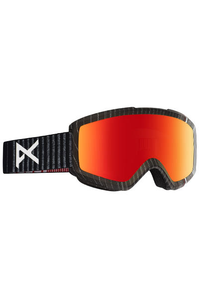 Anon Helix 2.0 Goggles (stryper red solex) incl. Bonus glass