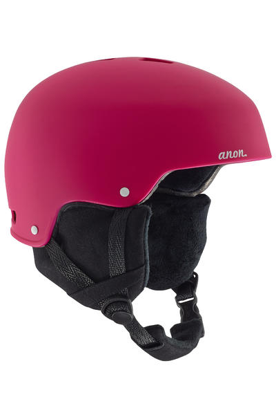 Anon Lynx Casco de Snow women (strawberry red)