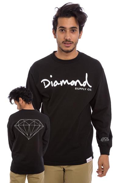 Diamond OG Script Longues Manches (black)