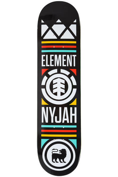 "Element Huston Crowned 7.75"" Deck (black)"