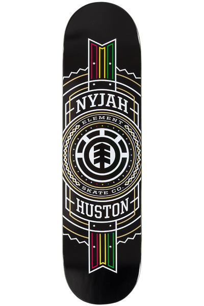 "Element Huston Rasta Stamp 8"" Deck (black)"