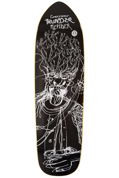 "Element Fletcher JJ Sketch 9.25"" Deck (black white)"