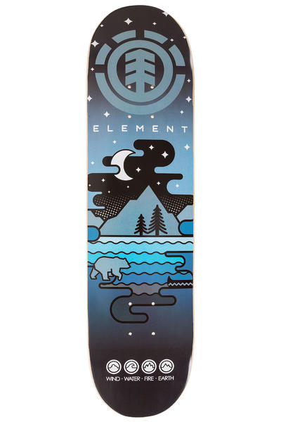 "Element Team Camping Twig Logo 7.625"" Deck (blue)"