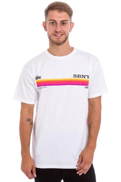 5BORO VHS Beta T-Shirt (white)