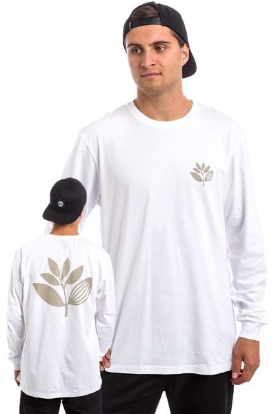 Magenta Plant Longsleeve (white beige)