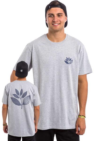 Magenta Striped Camiseta (heather grey)