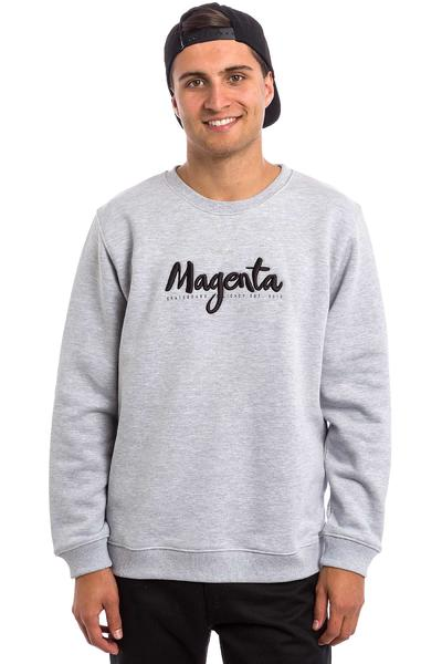Magenta Script Jersey (heather grey)