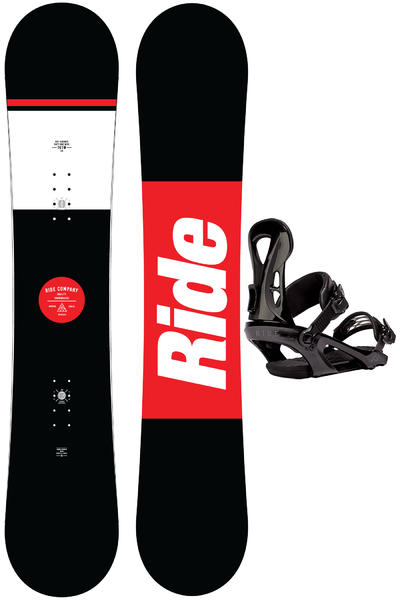 Ride Agenda 161cm Wide / LX L Set de Snowboard