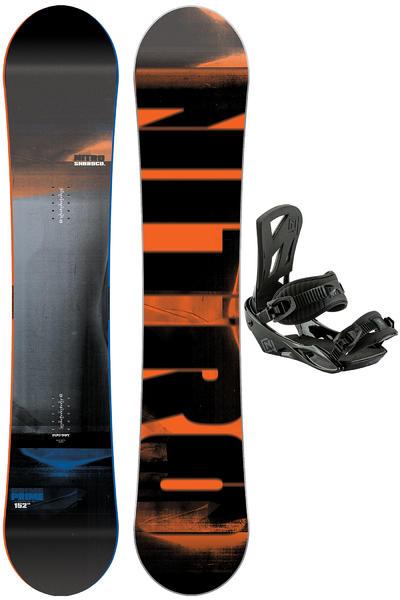Nitro Prime 152cm / Staxx M Set de Snowboard 2016/17
