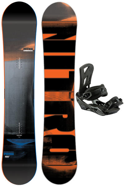 Nitro Prime 155cm / Staxx M Set de Snowboard 2016/17