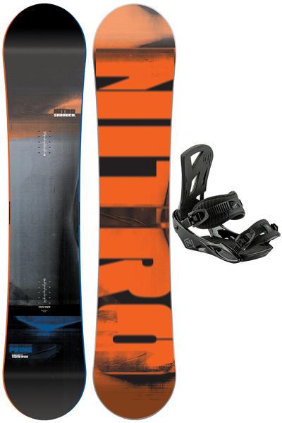 Nitro Prime Wide 156cm / Staxx L Snowboardset 2016/17