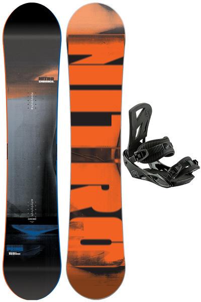 Nitro Prime Wide 159cm / Staxx L Snowboardset 2016/17