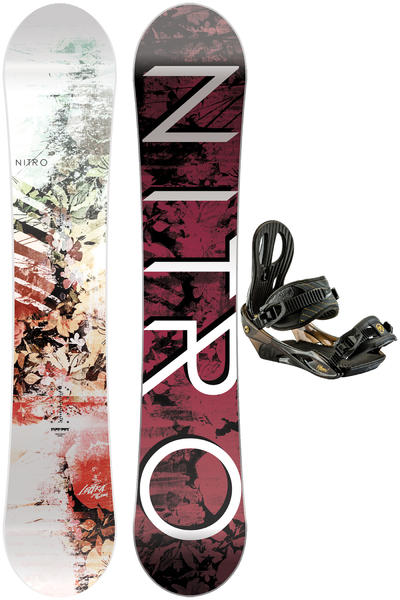 Nitro Lectra 146cm / Rythm S Snowboardset 2016/17 women