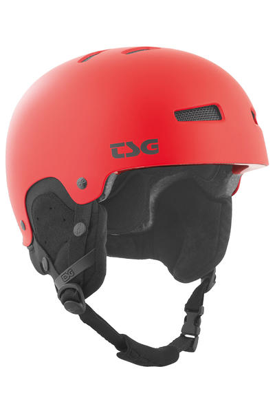 TSG Gravity Solid Color Casco de Snow (satin fire red)