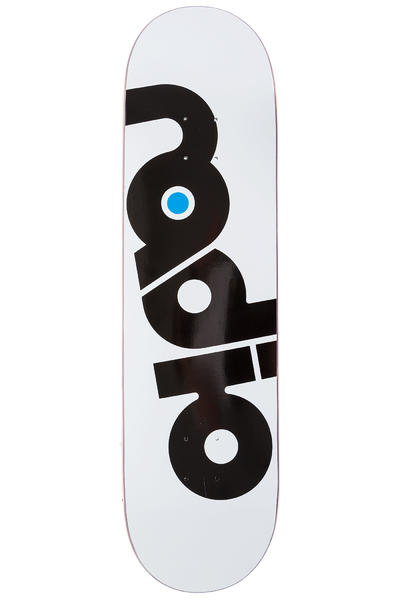 "Radio OG Logo 8.375"" Deck (white)"