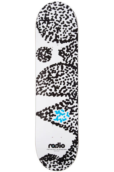 "Radio Dots 8.125"" Deck (white)"